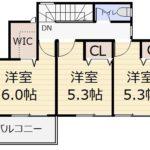 5号地 2F〈参考プラン〉(間取)